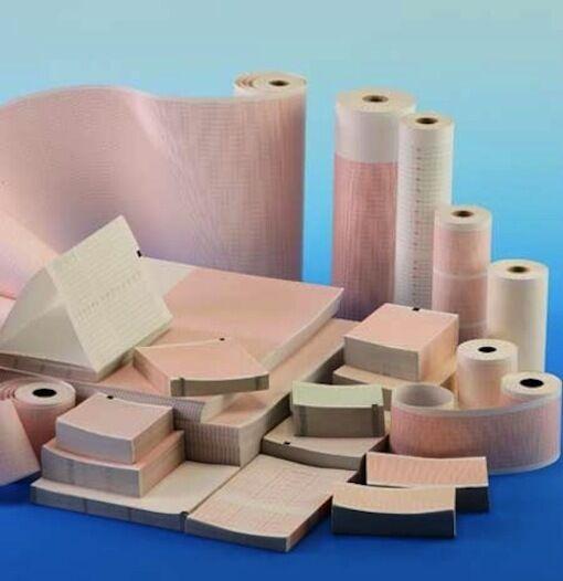 Monitoring paper Corometrics BAO4305/DAO4305 Z-Fold, 10 pads, free domestic ship