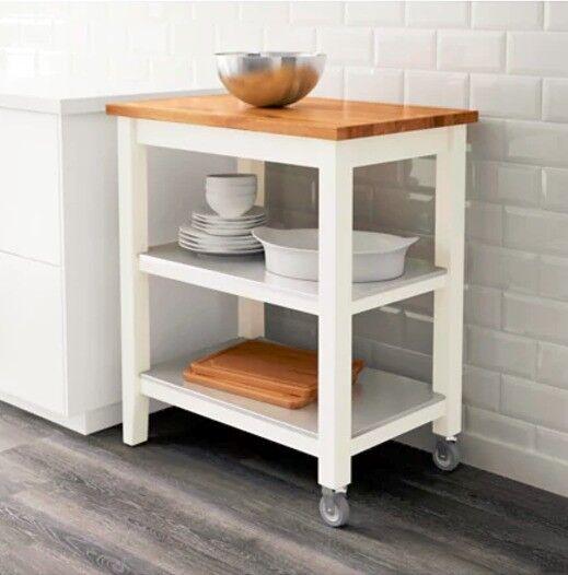 Ikea Kitchen Ads: IKEA STENSTORP Kitchen Island / Trolley With Storage