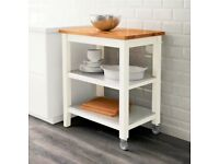 IKEA STENSTORP Kitchen Island / Trolley with storage - Brand New! Not out the box! RRP £140