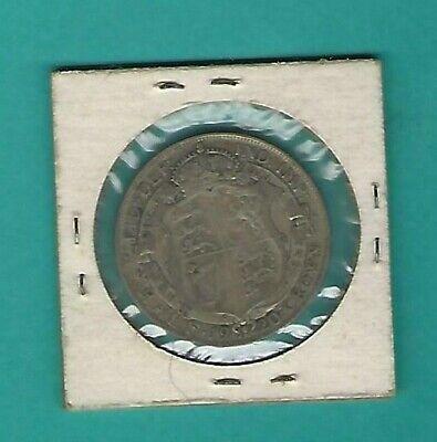 1920 British Half Crown silver coin