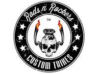 Motorcycle & Trike Repairs & Custom Bike Builders