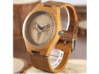 Wooden Watch + bracelets