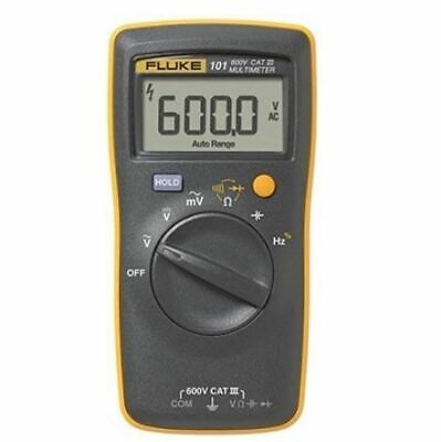 Fluke 101 Basic Digital Multimeter Pocket Portable Meter Ac Dc Volt Tester