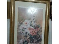 Large decorative picture frame £10