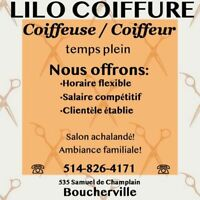 coiffeuse/coiffeur