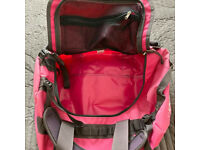 North Face Pink Base Camp Ruck Sack Duffel Bag 50L