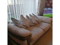 Large Harvey's 3 Seater Sofas x 2