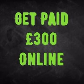 £300 Online Part Time From Home Immediate Start No Experience Required
