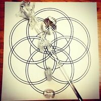 Manifest YOUR Desires. Create & Color A Crystal Grid