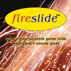 The fireslide guitar slide: world's most versatile guitar slide