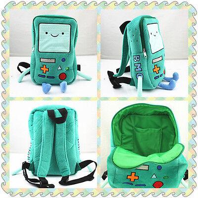 New Bmo Beemo Plush Backpack Shoulder Book School Bag 13 Inch Kids Gift
