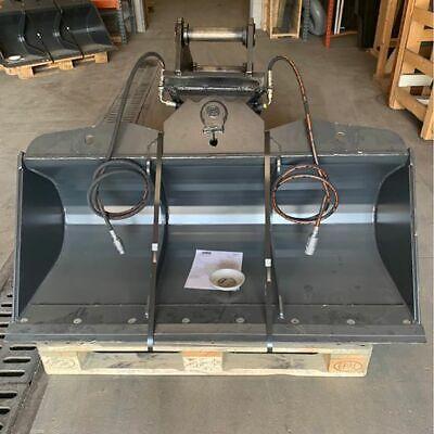 60 Hydraulic Ditching Grading Bucket For 8-13 Ton Mini Midi Excavators