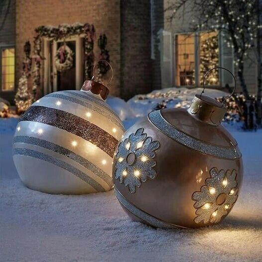 Christmas essential-PVC inflatable decorative ball 60*60 cm