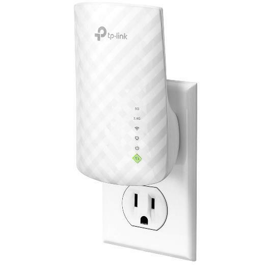 TP-Link AC750 RE200 Dual Band Wi-Fi Range Extender