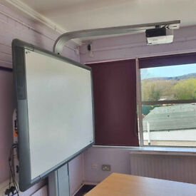 Projector full set for £300 can be connected by HDMI with PC and etc.