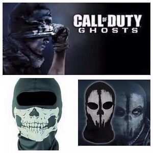 Call of duty ghost  masks