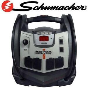 NEW SCHUMACHER 6 IN 1 JUMP STARTER 1200 PEAK/MAX AMPS PORTABLE POWER 107536571