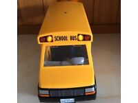 Playmobil SCHOOL BUS WITH FLASHING LIGHTS