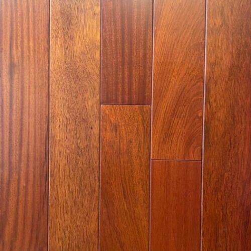 "Unfinished Brazilian Cherry Flooring 4.84"""