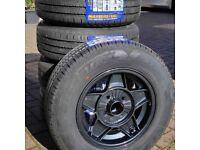 "Trailer Wheels 13"" Alloy Wheels ATS Classic Original 13"" x 5 + Tyres Brand New"