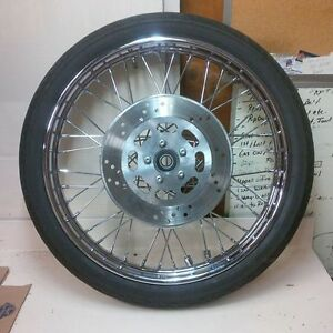 Nightrain Front Spoke Wheel/Tire