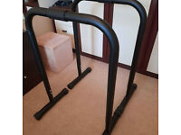 Dip bars/paralleled home fitness bars