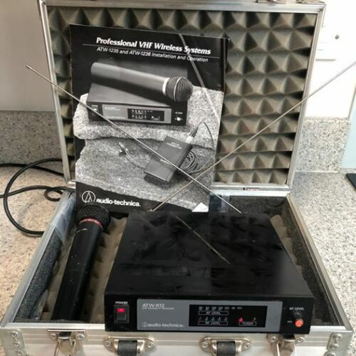 Audio Technica ATW-1235 -1236 1200 Series wireless system