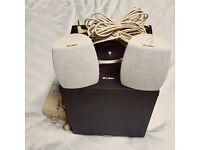 LABTEC LCS-2414 Multimedia 2.1 Subwoofer & Speakers System for Computer Desk Studio