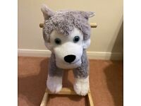Husky Dog rocker excellent condition collection Beighton near Lingwood