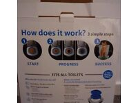 Toilet training kit for cats