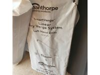 Linear dry verge 10 pack Manthorpe grey. Lefts n rights