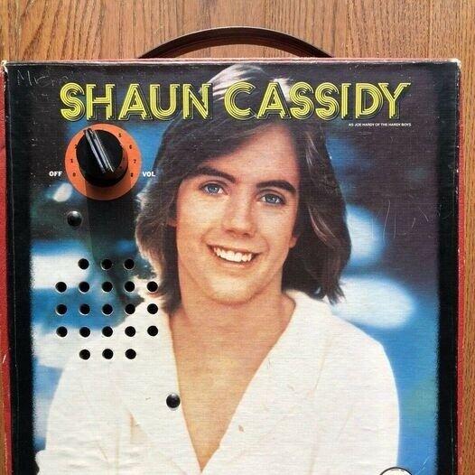 Shaun Cassidy disco amplifier - 1977