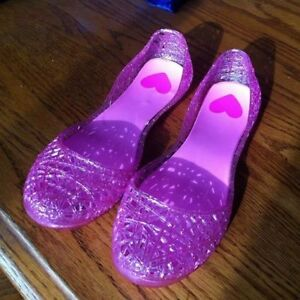 Pink Sparkle Shoes, Size 2