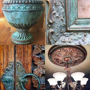 Metal Effects Oxidizing Patina Paints