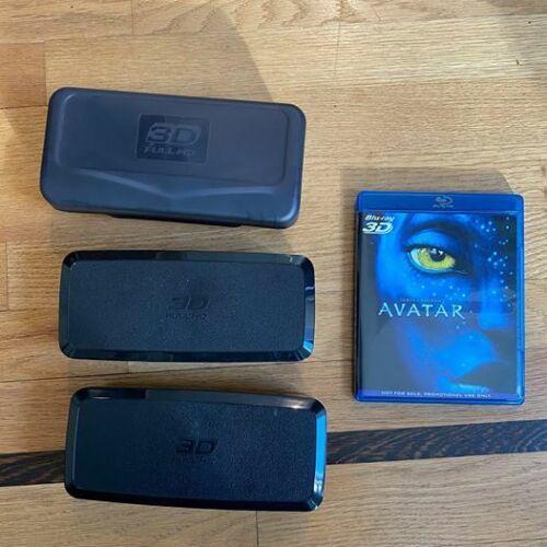 Panasonic 3D Glasses & Avatar 3D Blu-Ray