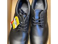 BRAND NEW Dr Martens Black Leather Steel Toe Safety Shoes Size 11