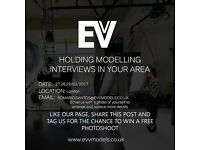 Holding Modelling Interviews in London Contact Us