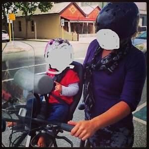 YEPP mini bike seat with SCREEN & HEADREST Beaconsfield Fremantle Area Preview
