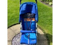 FROM BIRTH Cybex Onyx stroller/pushchair/pram with rain cover and instructions
