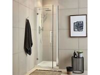 BNIB 760 x 1850 8mm (high end quality) shower door