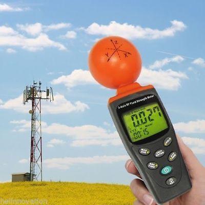T95 Digital 3-axis Emf Rf Radiation Electrosmog Power Meter Tester