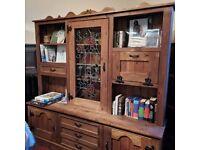 Rustic Cabinet Dresser
