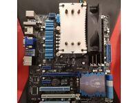 ASUS P8Z77-V + i7 3770K + 32 GB (DDR3: 4x8GB)