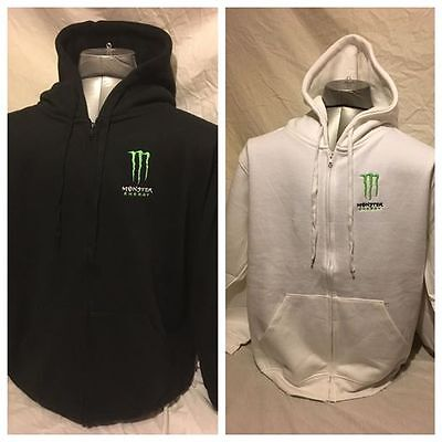 Monster Energy Drink Claw Hoodie jacket Sizes XS - (Hoodie Monster)