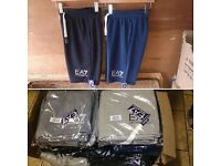 mens EA7 shorts