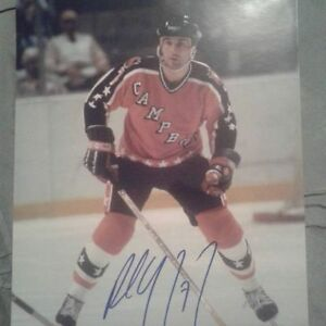 PAUL COFFEY AUTOGRAPHED 8X10 PHOTOS