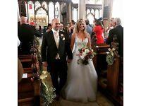 Beautiful Maggie Sottero, Sottero and Midgley Danica Wedding Dress, size 12
