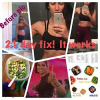GET IN SHAPE with 21 day FIX!! just 3 weeks to a NEW you!
