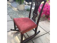 Rocking chair - perfect upcycling project