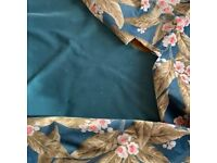 Linwood velvet fabric remnants airforce blue cushions? Crafts? sewing ?